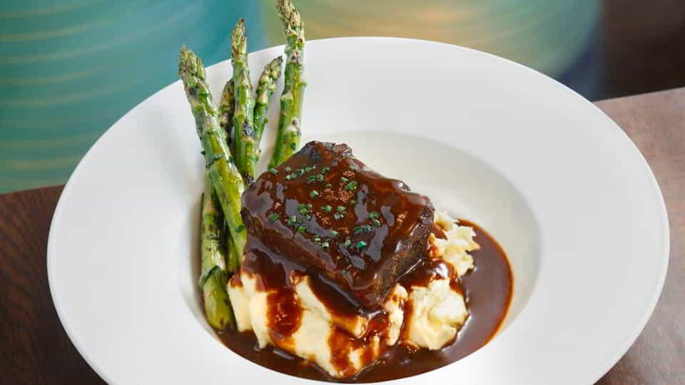 Short Ribs at ARIA Café.