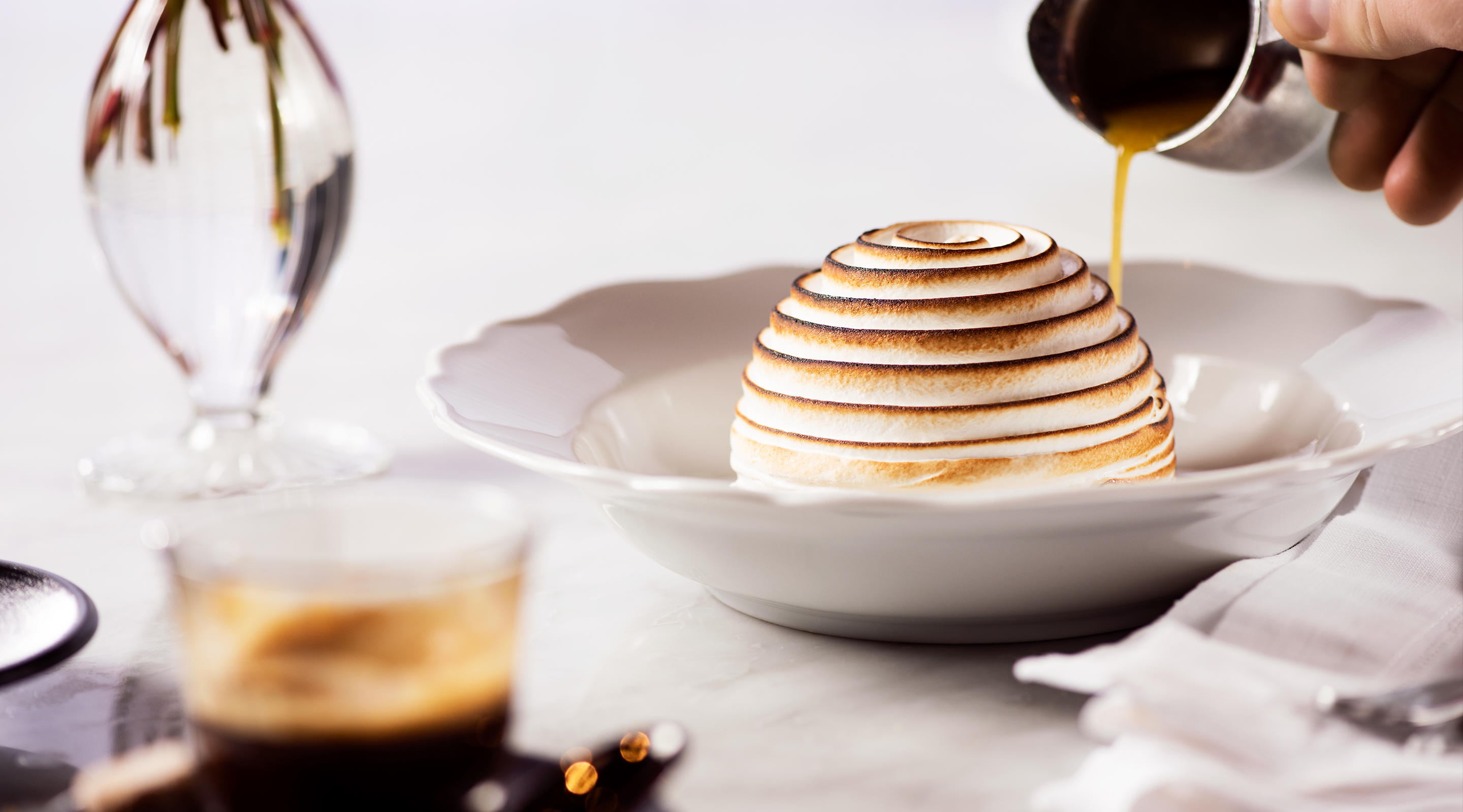 Tableside Baked Alaska