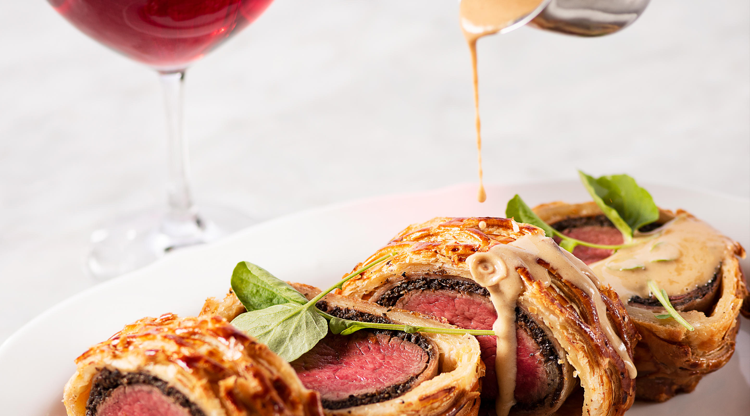 Tableside Beef Wellington