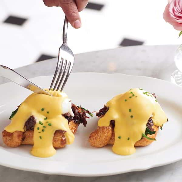 Eggs Benedict at BARDOT at ARIA.
