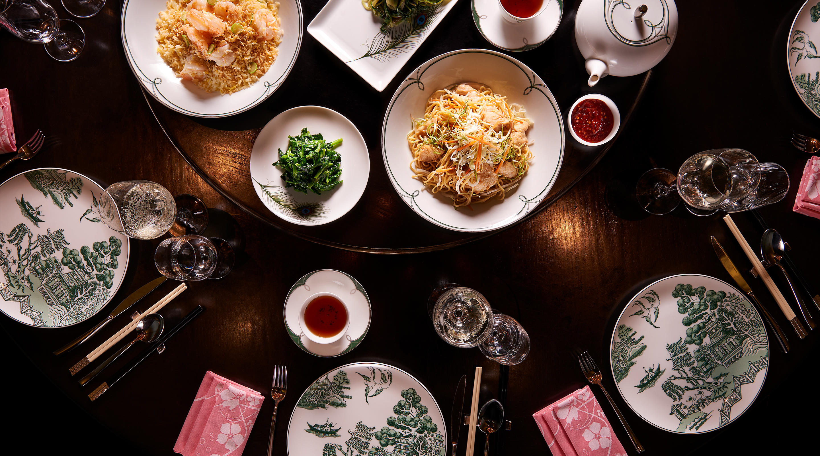 Blossom delivers the triumphs of Chinese cuisine through a 100-dish lineup.