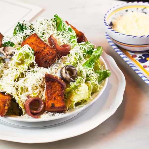 Enjoy a fresh Caesar Salad from Carbone at ARIA.