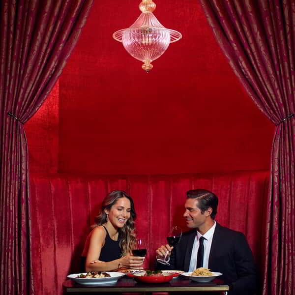 Carbone's Red Room.
