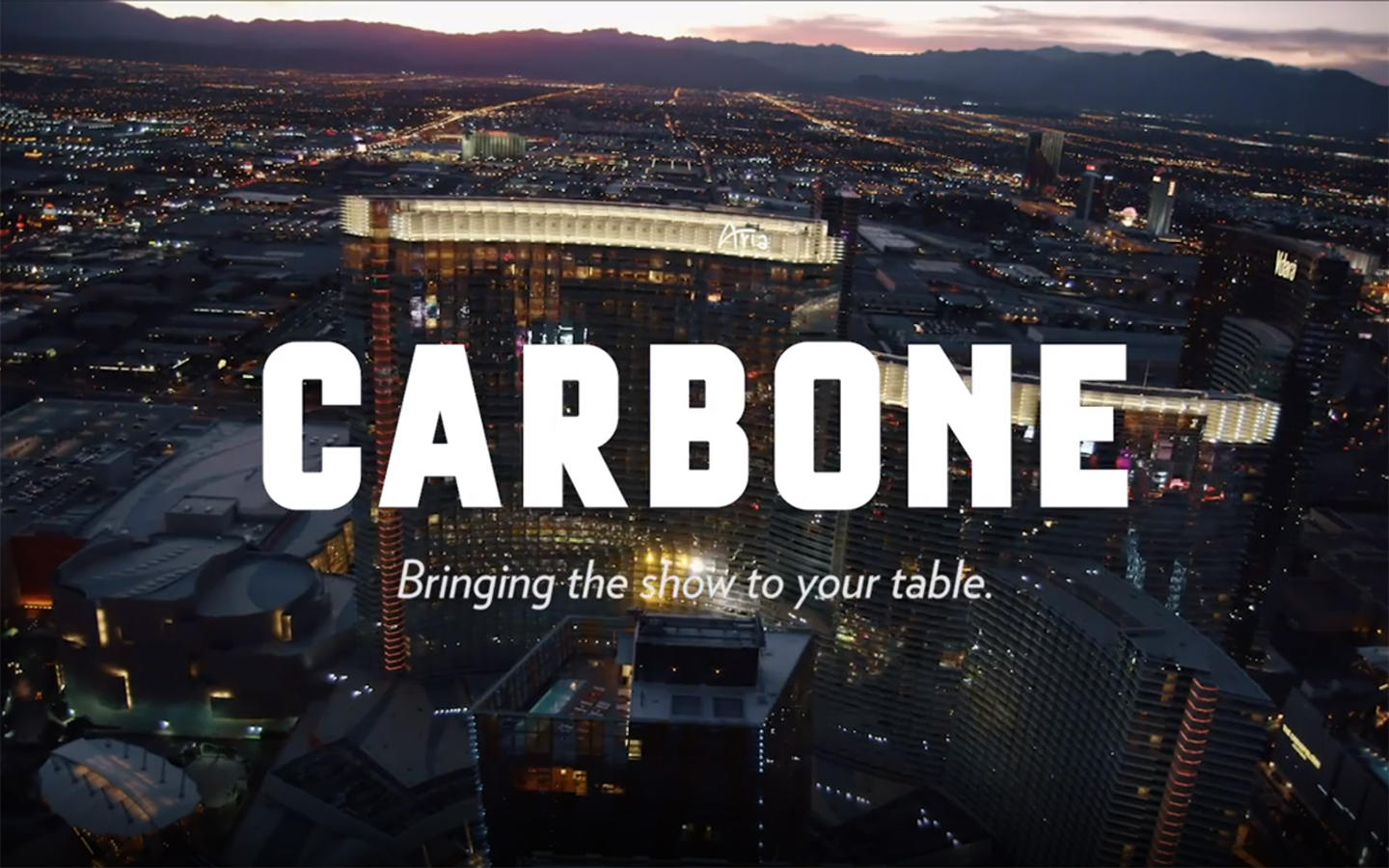 Take in the sights and enjoy Carbone's Dover Piccata, presented tableside by one of our captains.