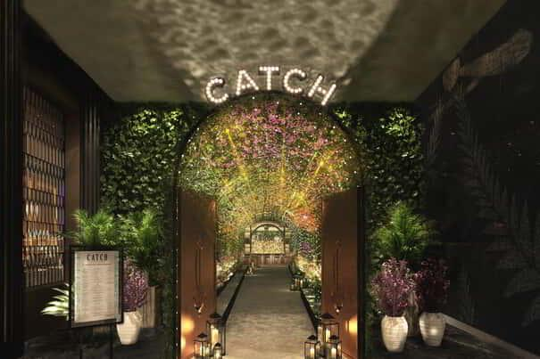 Entry of CATCH Las Vegas in ARIA.