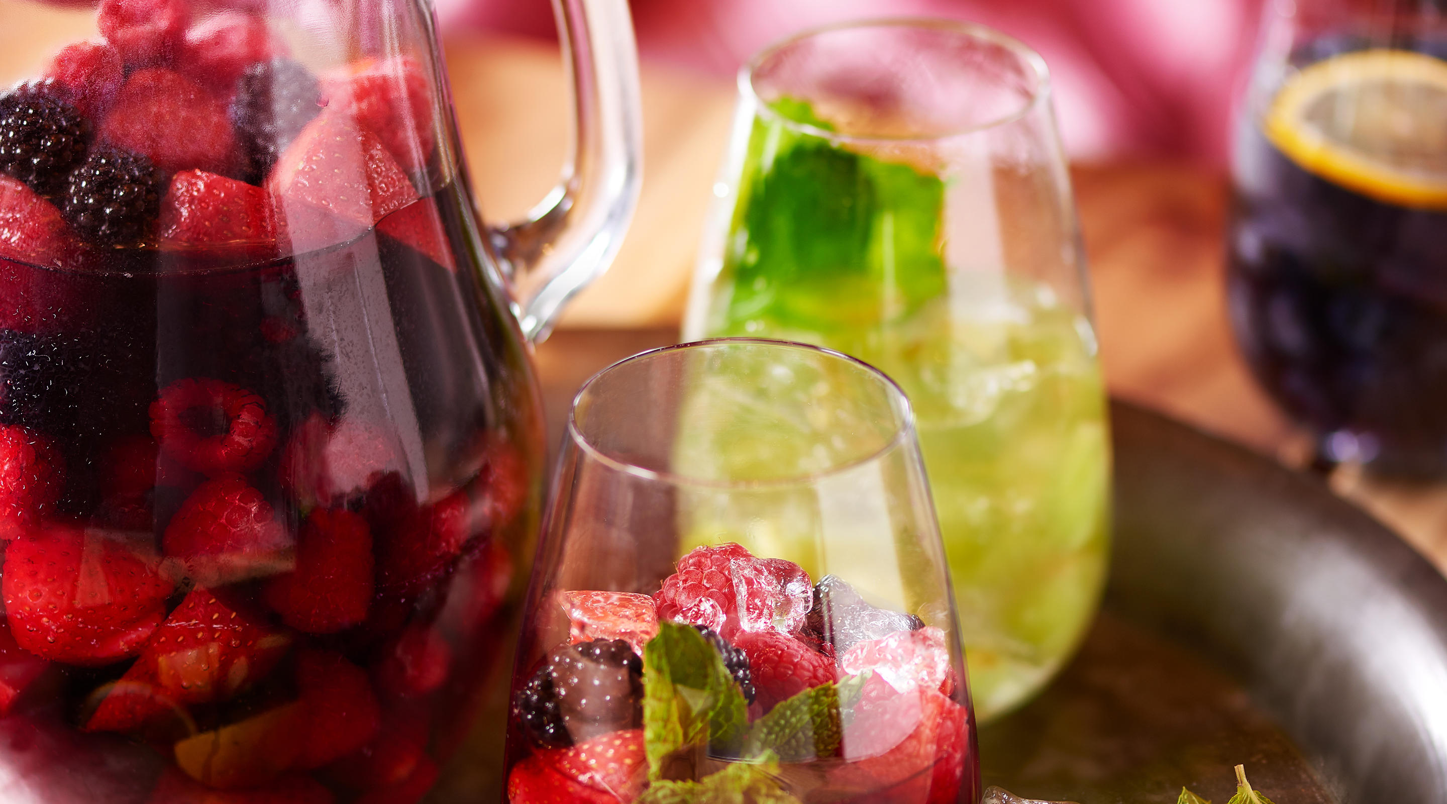 Housemade sangria is the perfect complement to your dining experience at Julian Serrano Tapas.