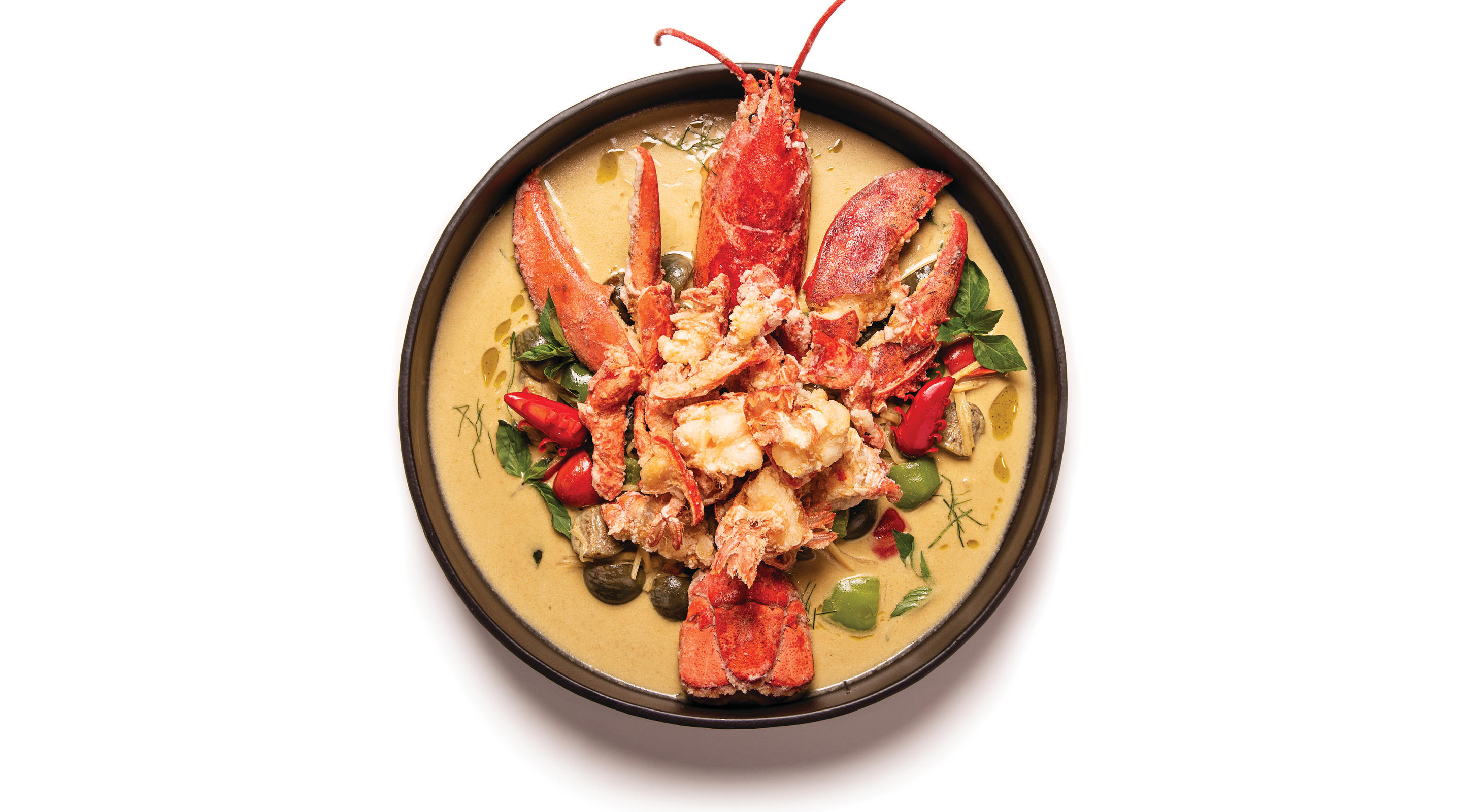 Maine Lobster Green Curry