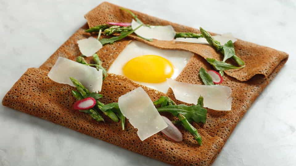Enjoy breakfast on an entirely new level with this Breakfast Crepe.