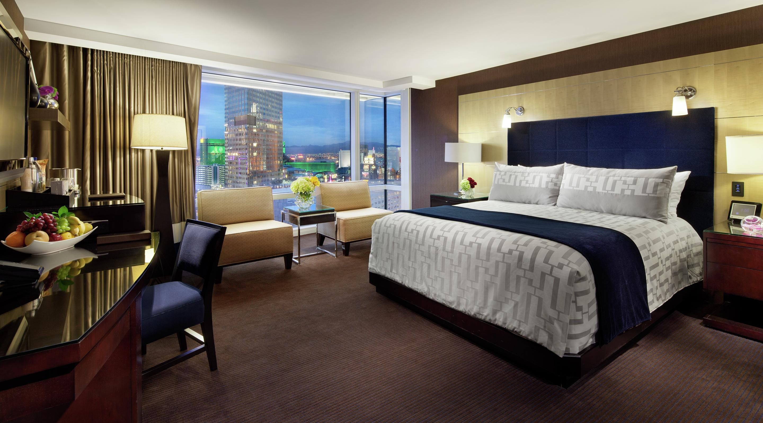 The rooms at ARIA have quickly become the new standard in Las Vegas hotel luxury.