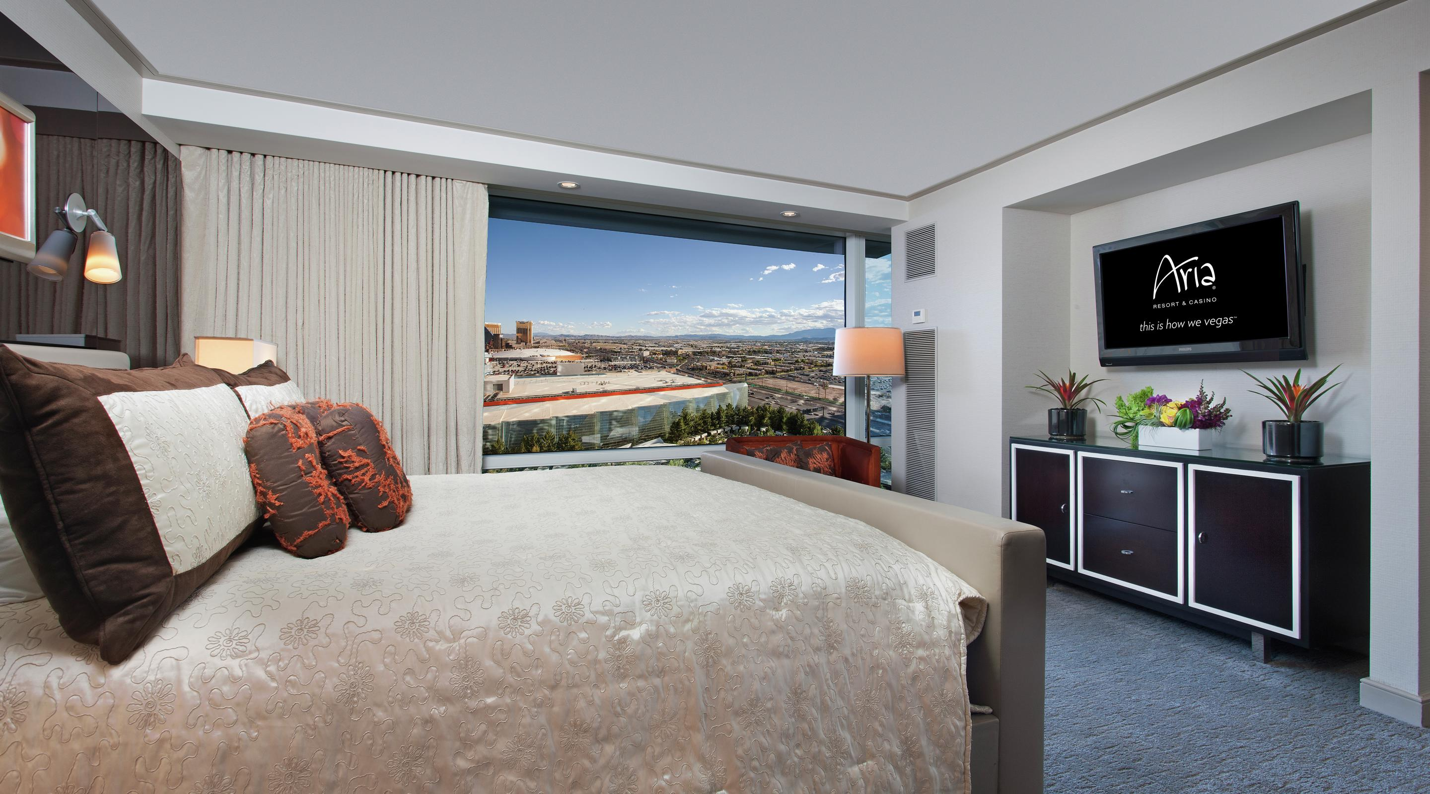 Experience ARIA's Executive Hospitality Suite.