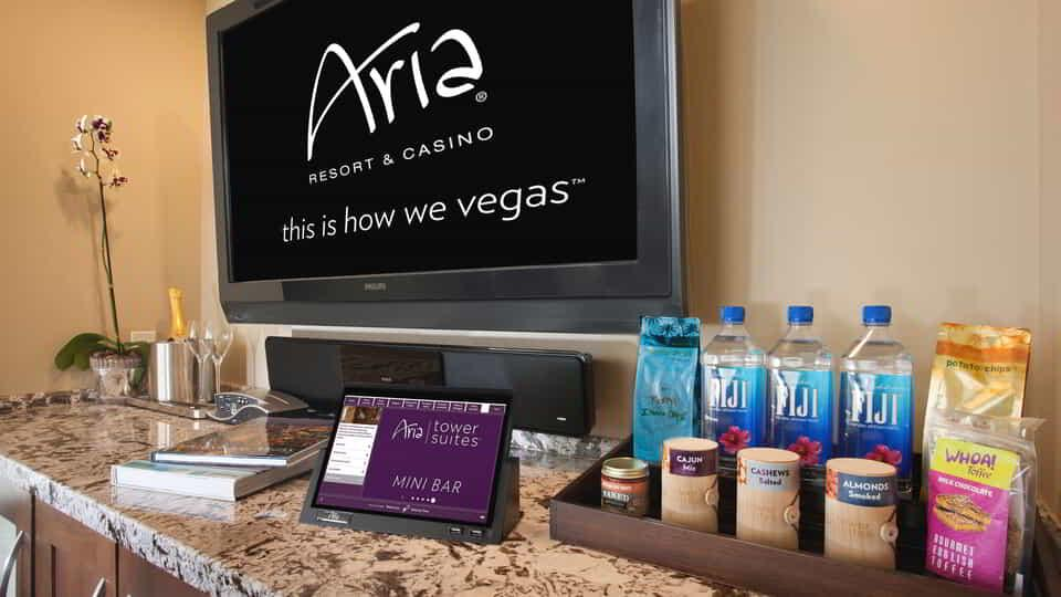 Experience ARIA's in-room amenities.
