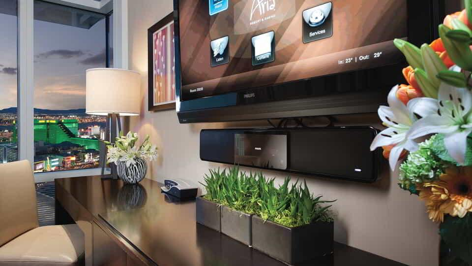 Our one-touch, in-room technology.