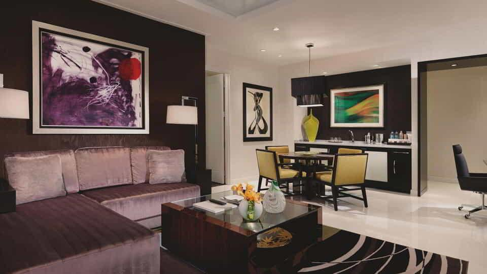 You shouldn't have to settle for anything but the best. And with our 2-Bedroom ARIA Suite, you won't.