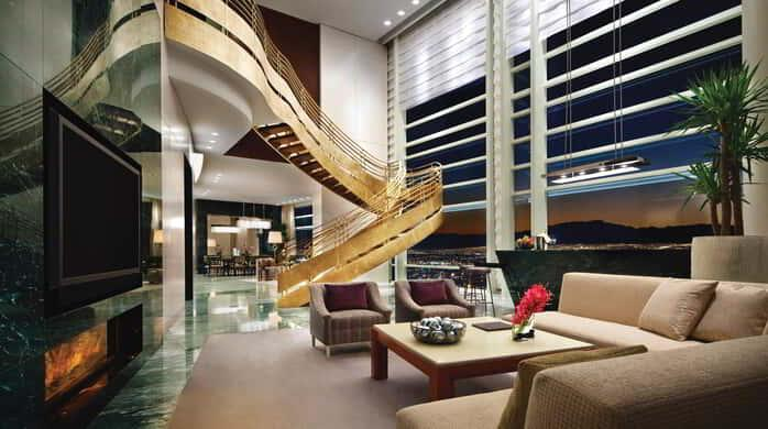 ARIA proudly introduces the Sky Villas. Ranging in size from 2,000 to 7,000 square feet and offering both two and three bedroom, as well as single- and two-story retreats, the Sky Villas exist for the most discerning of guests who demand a unique, exclusive and unprecedented experience.