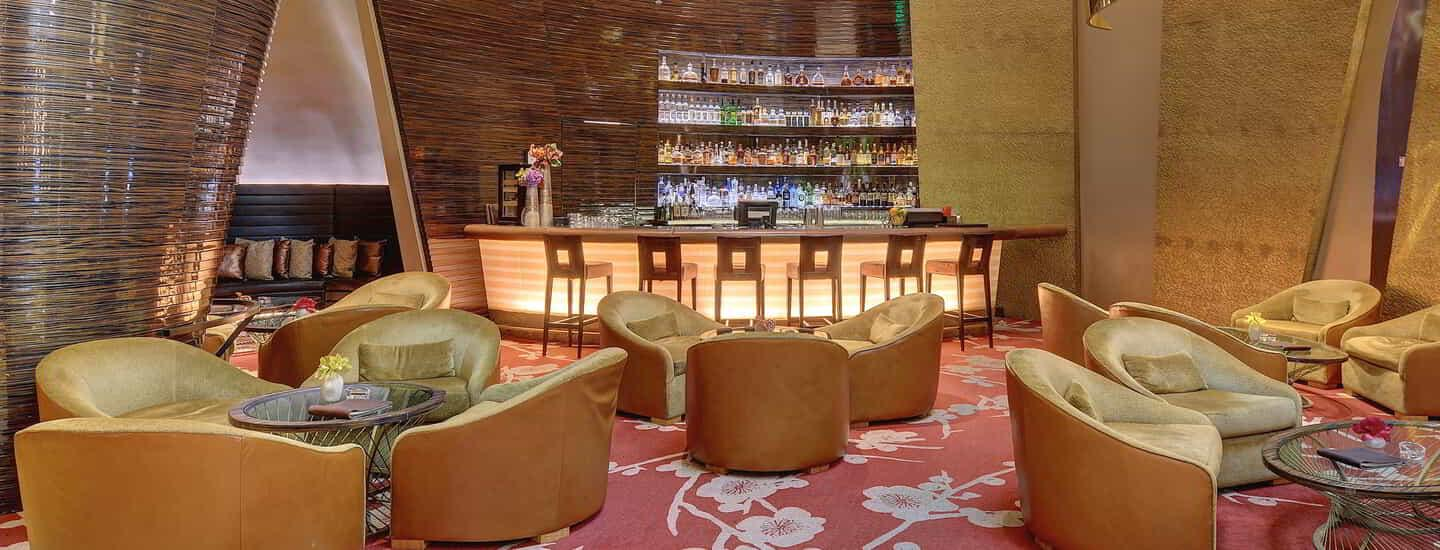 One of ARIA's hidden gems, the Baccarat Lounge is an intimate bar located at the edge of the Baccarat Room.