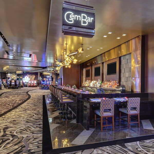 ARIA's newest bar, Gem Bar.