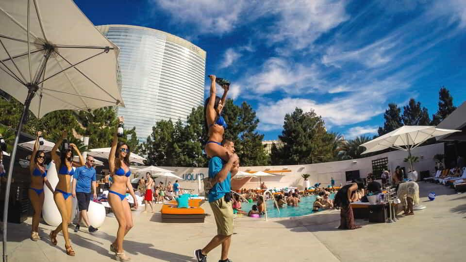 Experience Liquid Day Club at ARIA Resort & Casino