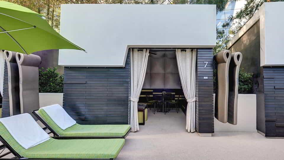 Reserve your cabanas and daybeds at ARIA.
