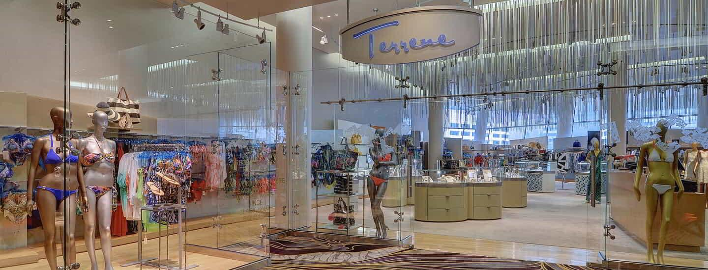 For the most convenient shopping in Las Vegas, Terrene carries a range of fashion for today's modern woman.