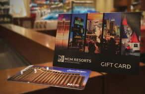 Presenting the perfect gift to experience the unparalleled luxury of Beau Rivage.