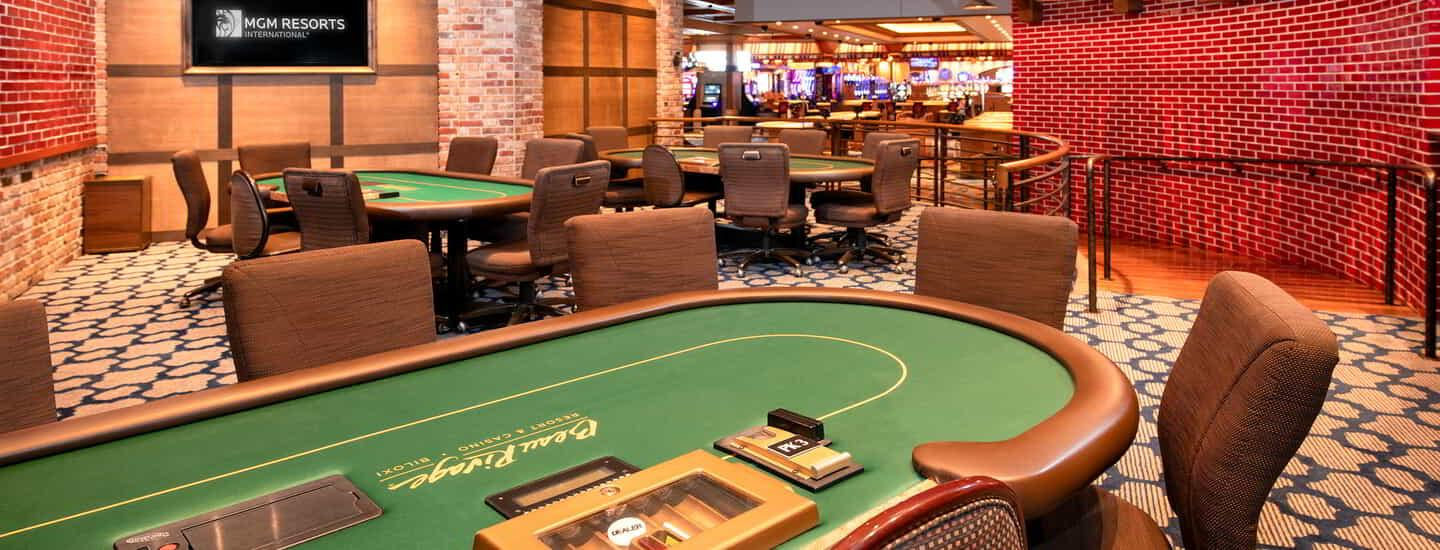 Beau Rivage Poker Room Tables