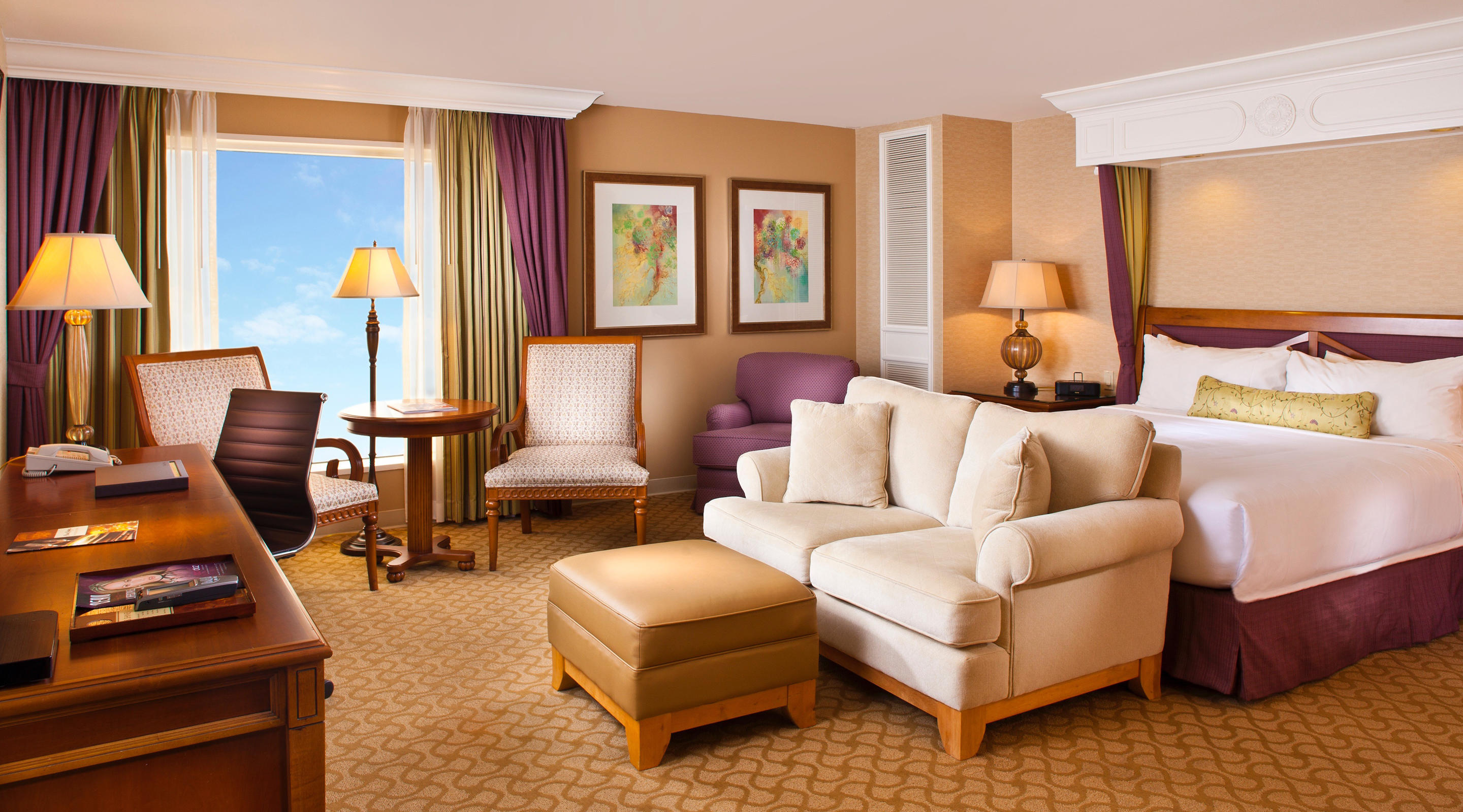 Compliment your King-sized vacation with equally spacious accommodations.