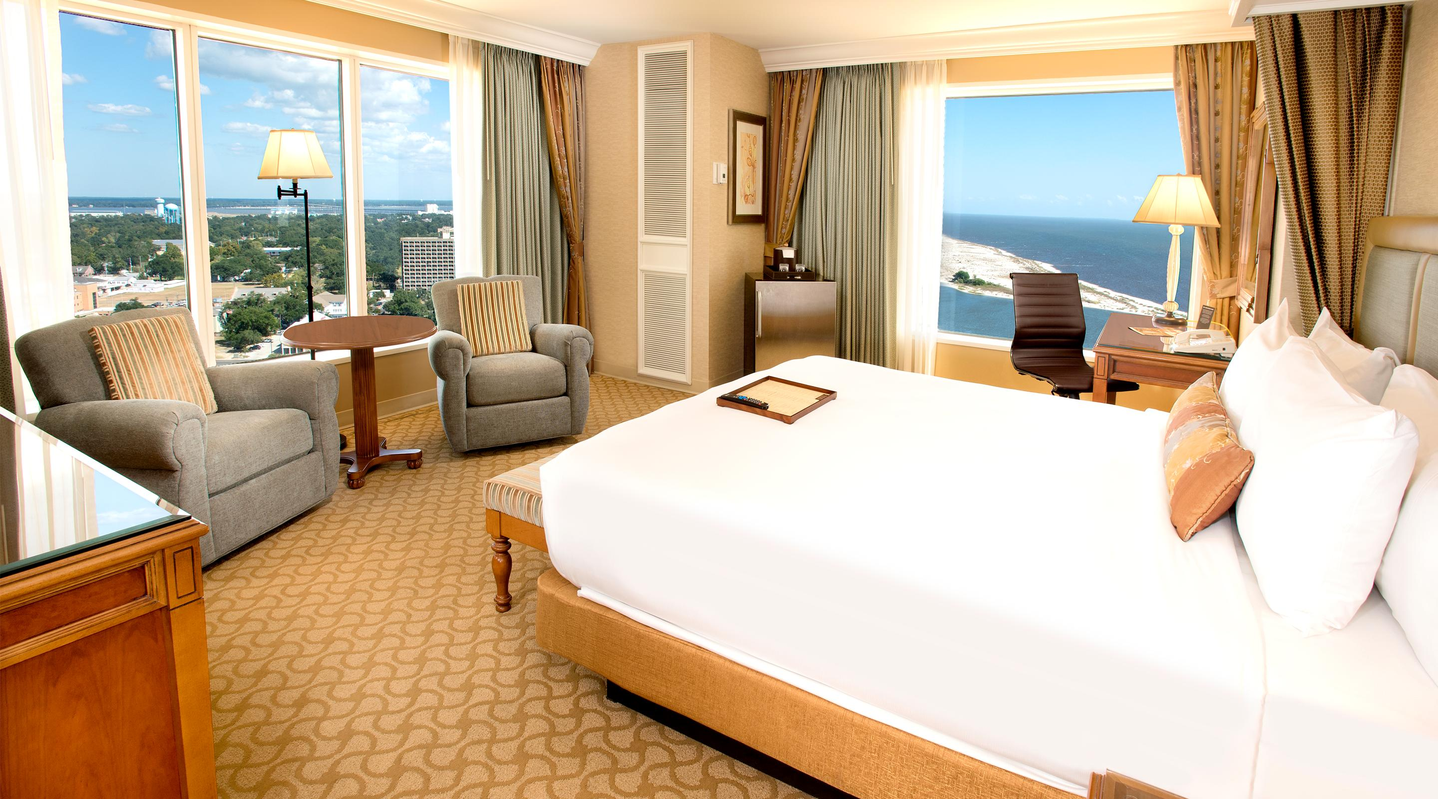 Beau Rivage Panoramic King room.
