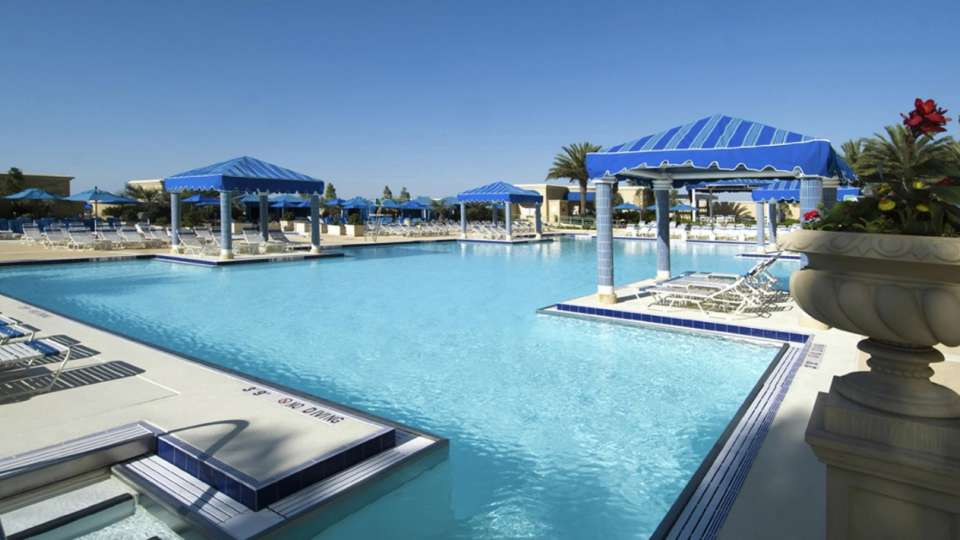 Beau Rivage Pool With Cabanas