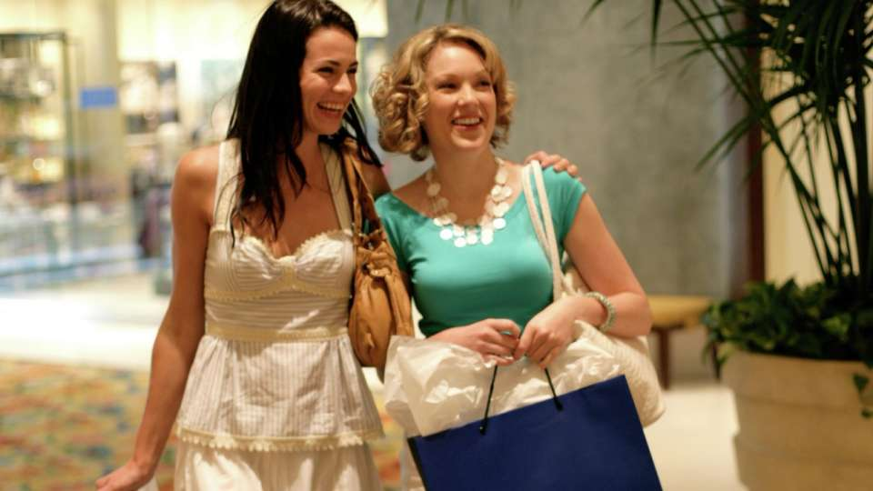 Beau Rivage Shopping Two Women