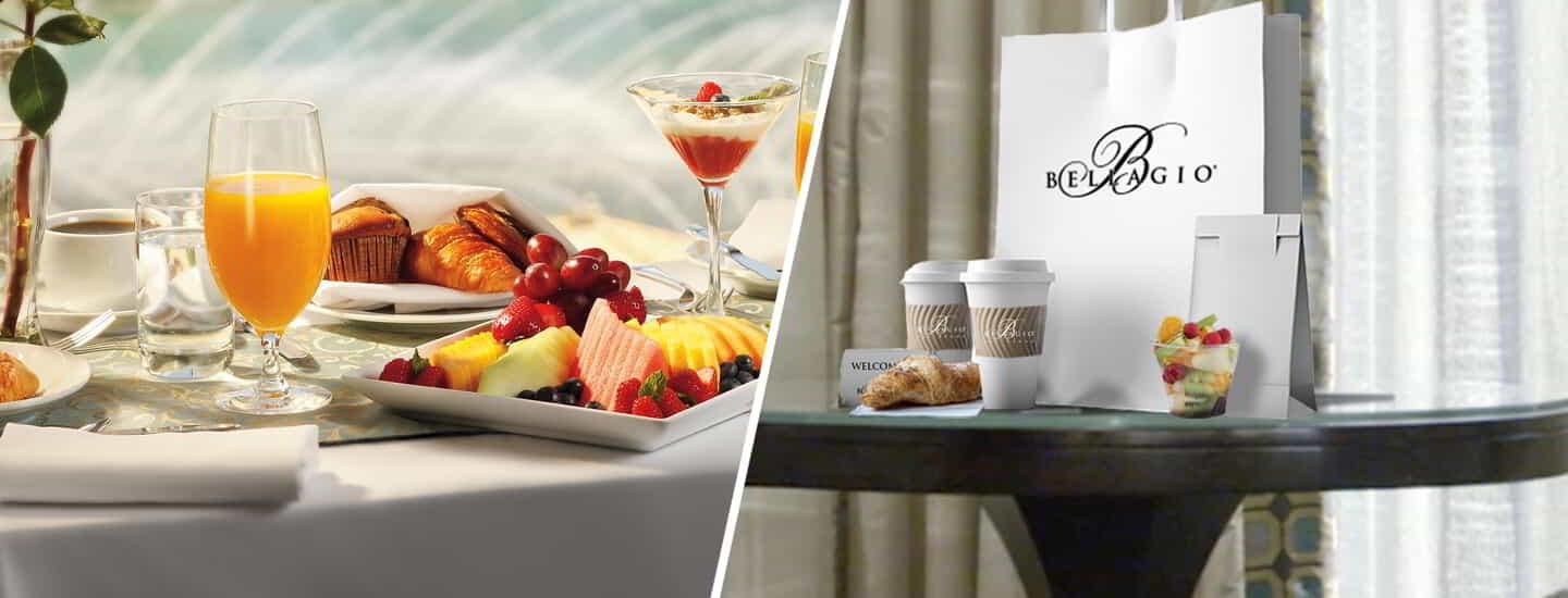Now offering two ways to enjoy in-room dining: Express and Classic.