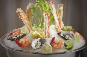 Seafood on Ice In-Room Amenity