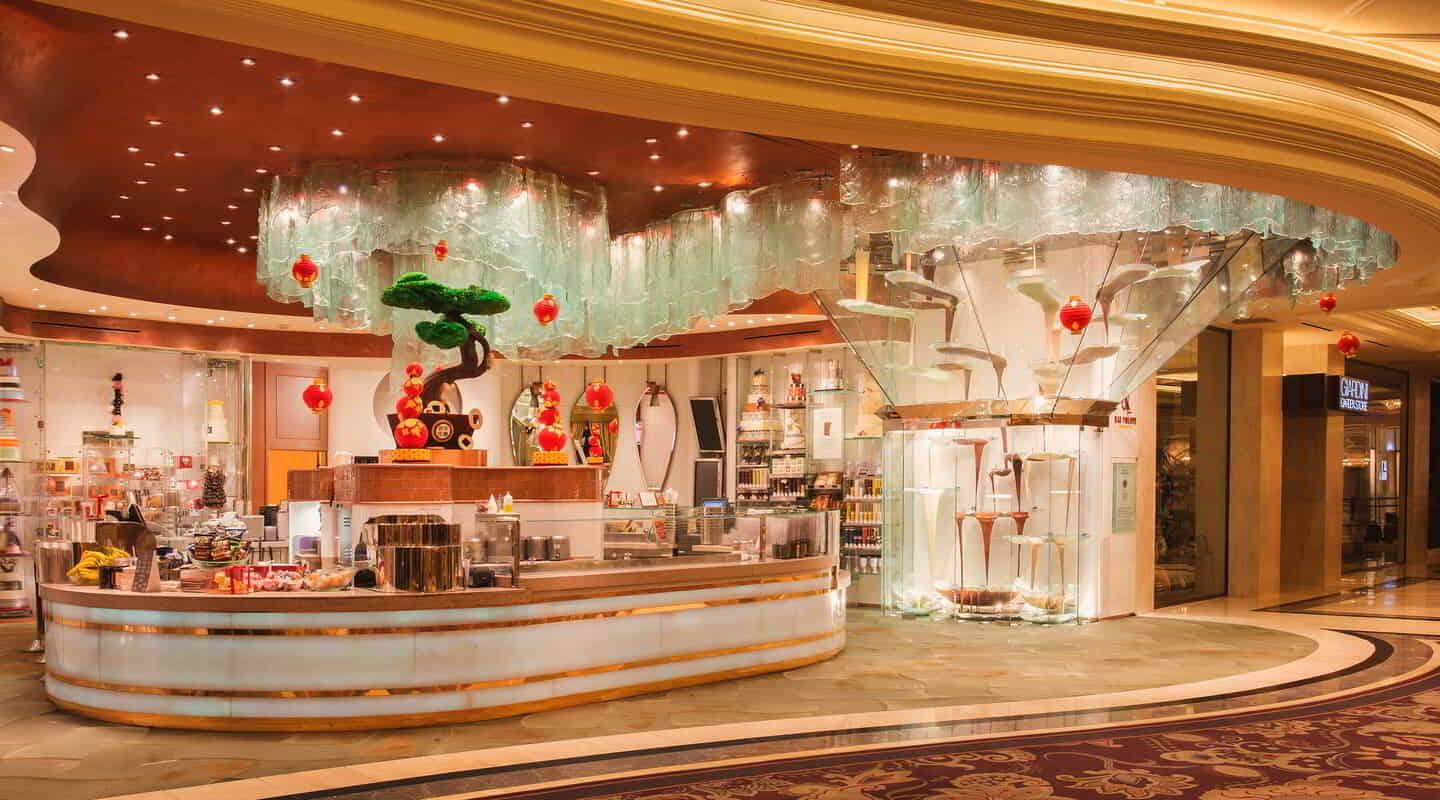 Welcome to Jean Philippe Patisserie at Bellagio!
