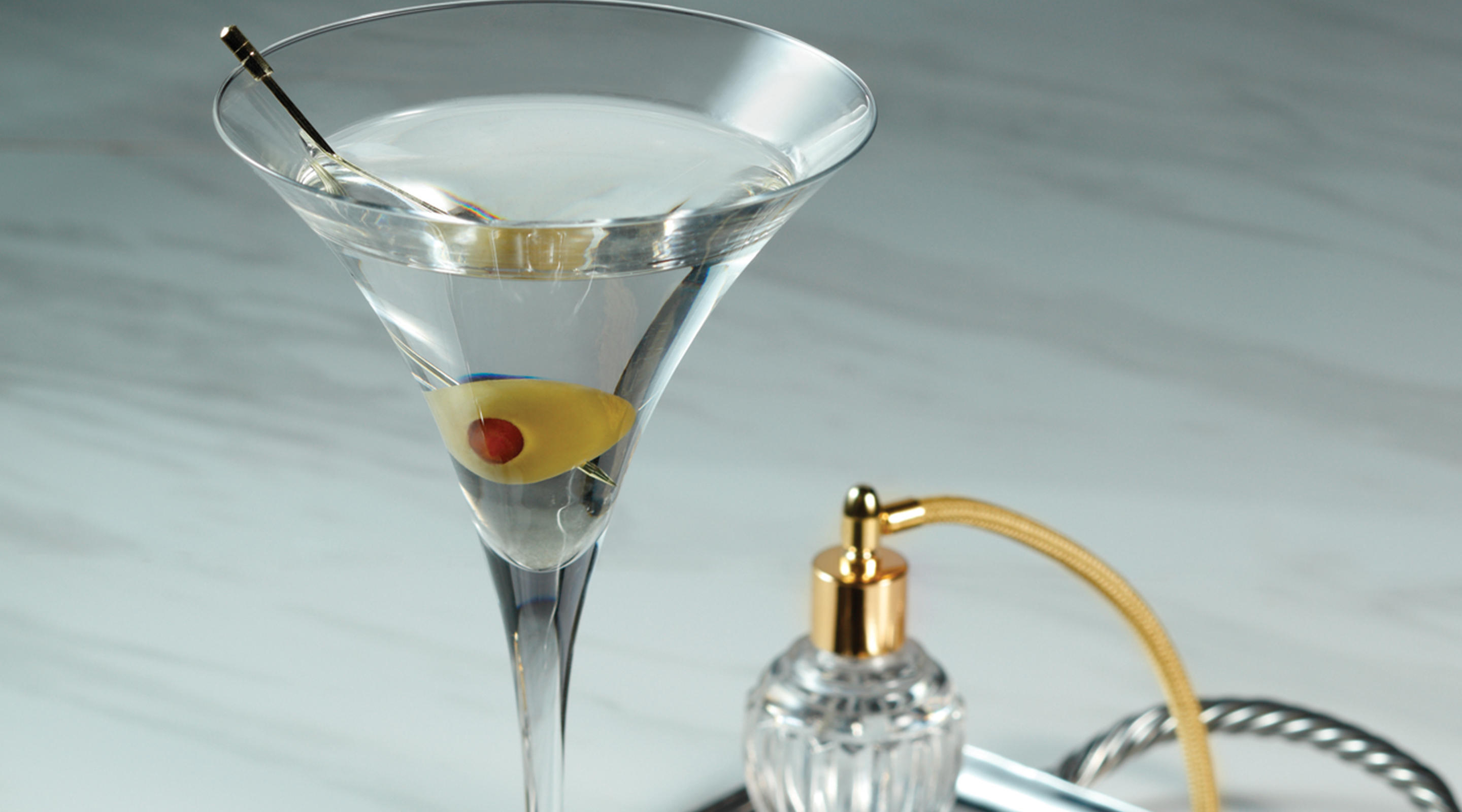 A classic Martini from Mayfair Supper Club.