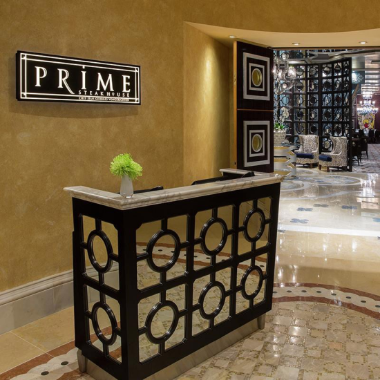 Prime at Bellagio welcomes your reservations nightly.