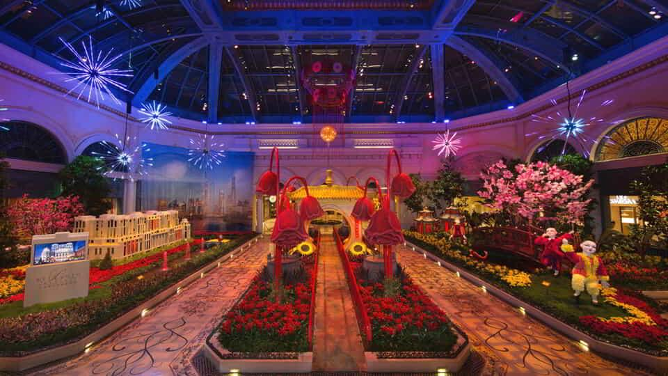 Chinese New Year is live at Bellagio.