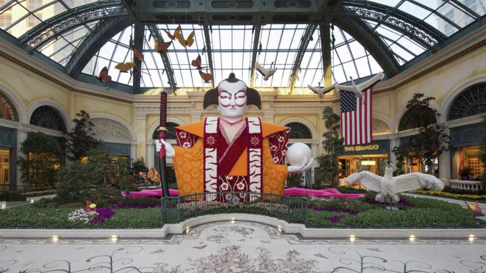 Japanese Spring is now live at Bellagio.