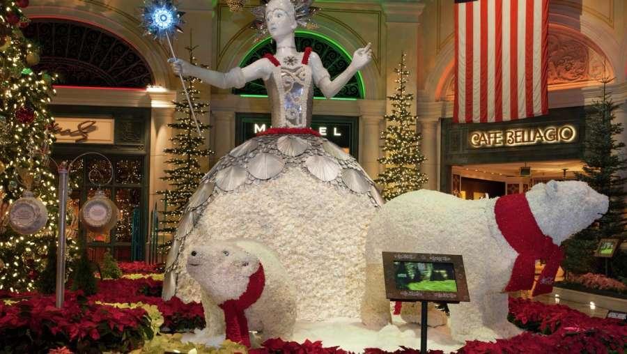 Bellagio Christmas Display