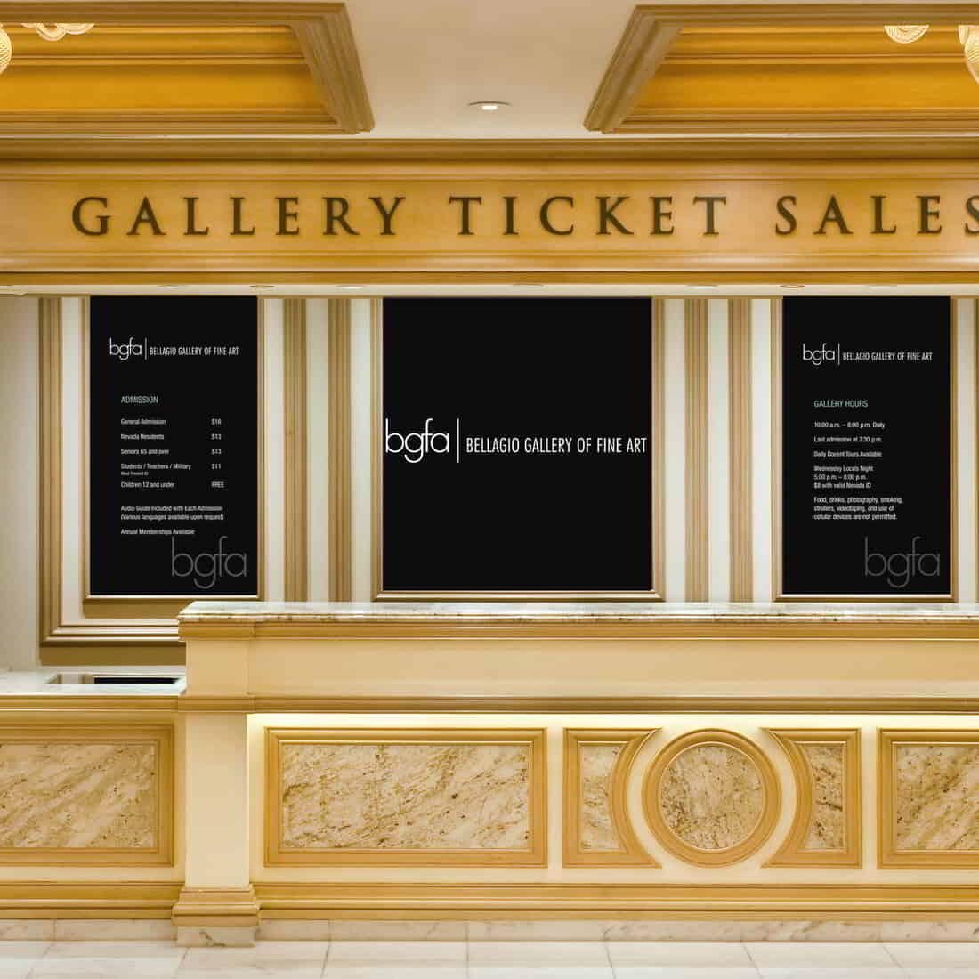 Bellagio Gallery Box Office
