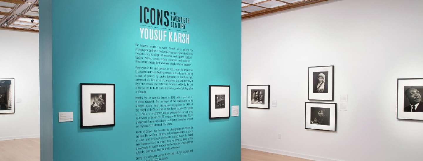 An inside look at Yousuf Karsh: Icons of the Twentieth Century at the Bellagio Gallery of Fine Art.