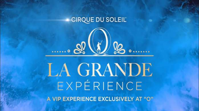 The La Grande Expérience, a VIP experience exclusively at O by Cirque du Soleil, offers a performer meet-and-greet, pre-show reception, VIP Suite seating and more.