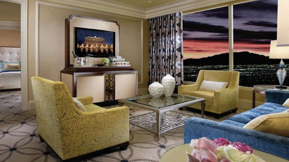 Bellagio Suite Living Room