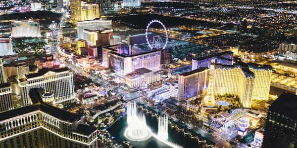 Bellagio is perfectly located on the Las Vegas Strip.