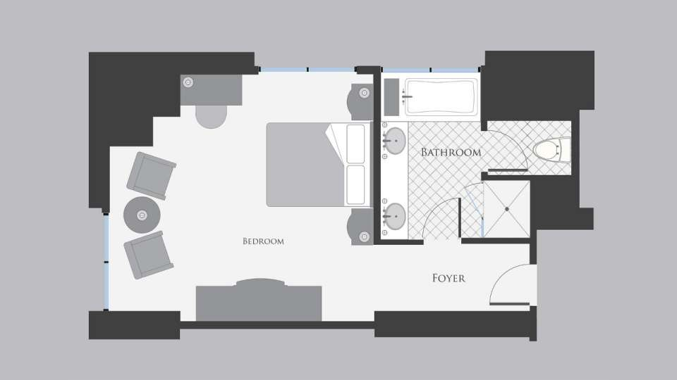 bellagio-hotel-resort-tower-king-floor-plan