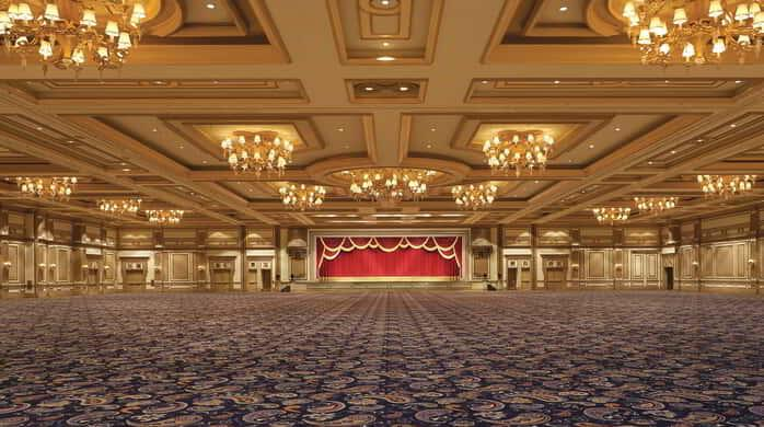 Our largest venue, the Grand Ballroom offers 45,000 square feet of magnificent space.