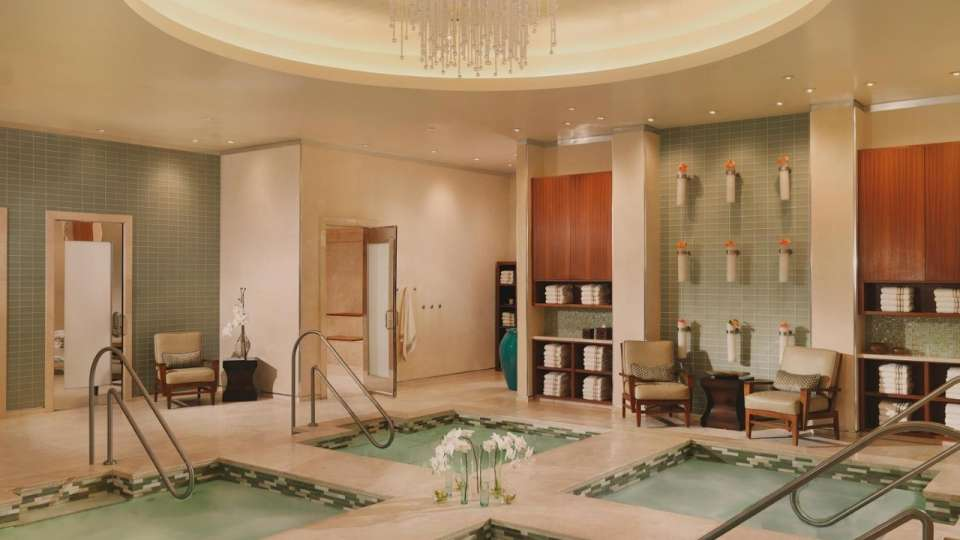 Bellagio Amenities Spa Pools