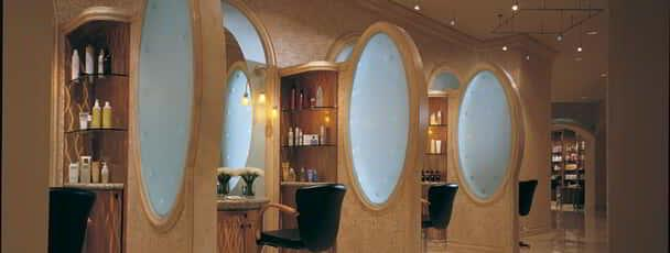 An interior shot of Borgata salon.