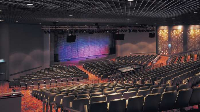 The Music Box theatre is an entertainment venue at Borgata.