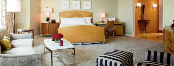 Fiore Suite offers 700 square feet of accommodations at Borgata Hotel Casino & Spa.