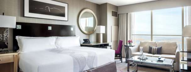 Grande Room is spacious guest room at Borgata Hotel Casino & Spa.