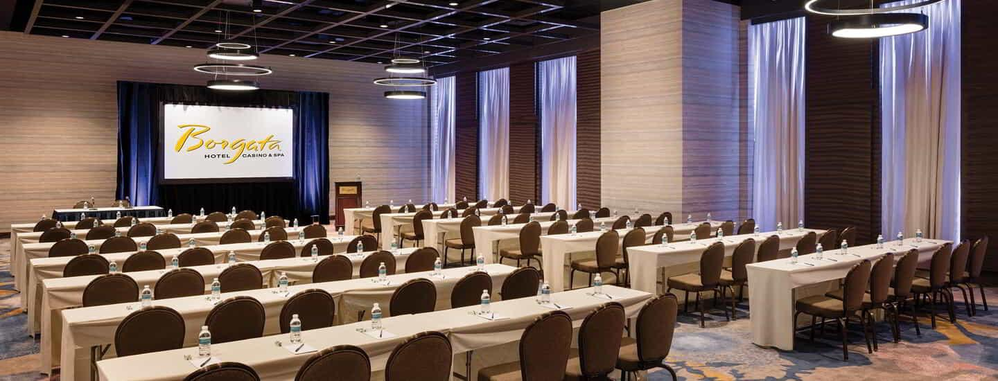 Borgata Meetings Conference Center Tables